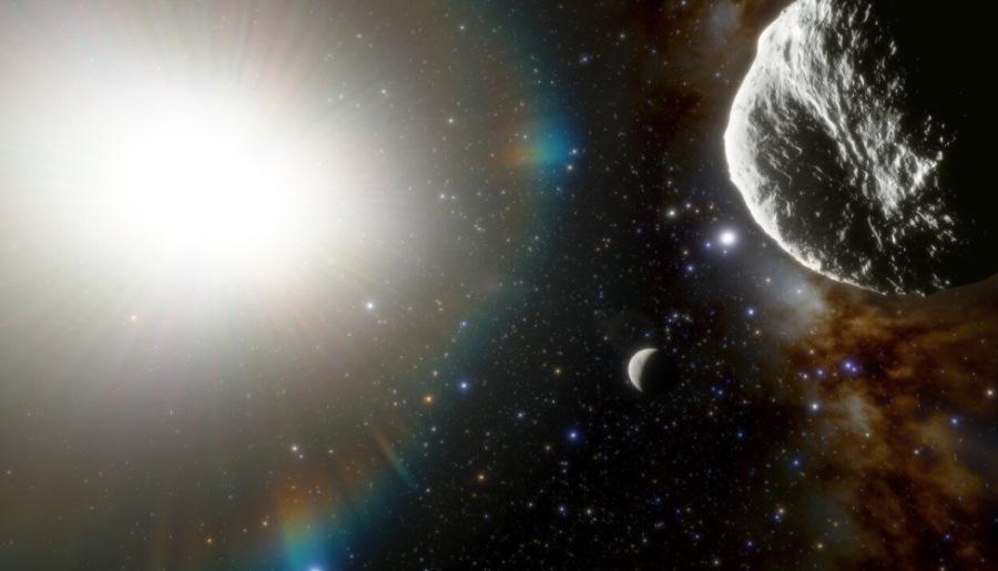 Najszybciej orbitująca asteroida w Układzie Słonecznym