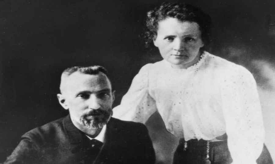 Pierre curie i Maria Skłodowska-Curie