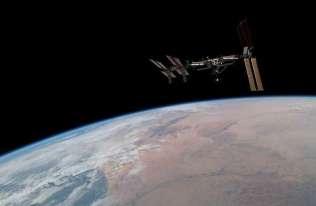 Międzynarodowa Stacja Kosmiczna nad Ziemią