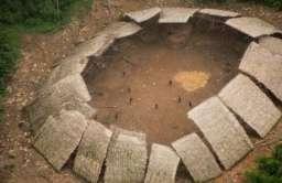 Osada jednego z plemion izolowanych w Amazonii w Brazylii
