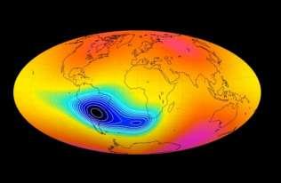 Anomalia w ziemskim polu magnetycznym pogłębia się. Może to zwiastować przebiegunowanie Ziemi