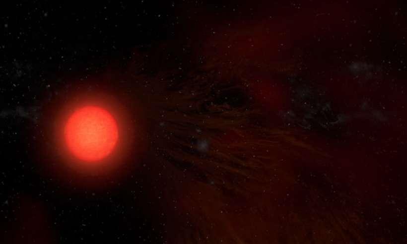 Radioteleskopy pokazały prawdziwe rozmiary atmosfery Antaresa