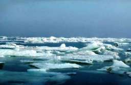 Topniejąca pokrywa lodowa na Morzu Arktycznym