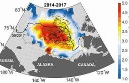 Rezerwuar ciepłej wody pod Oceanem Arktycznym