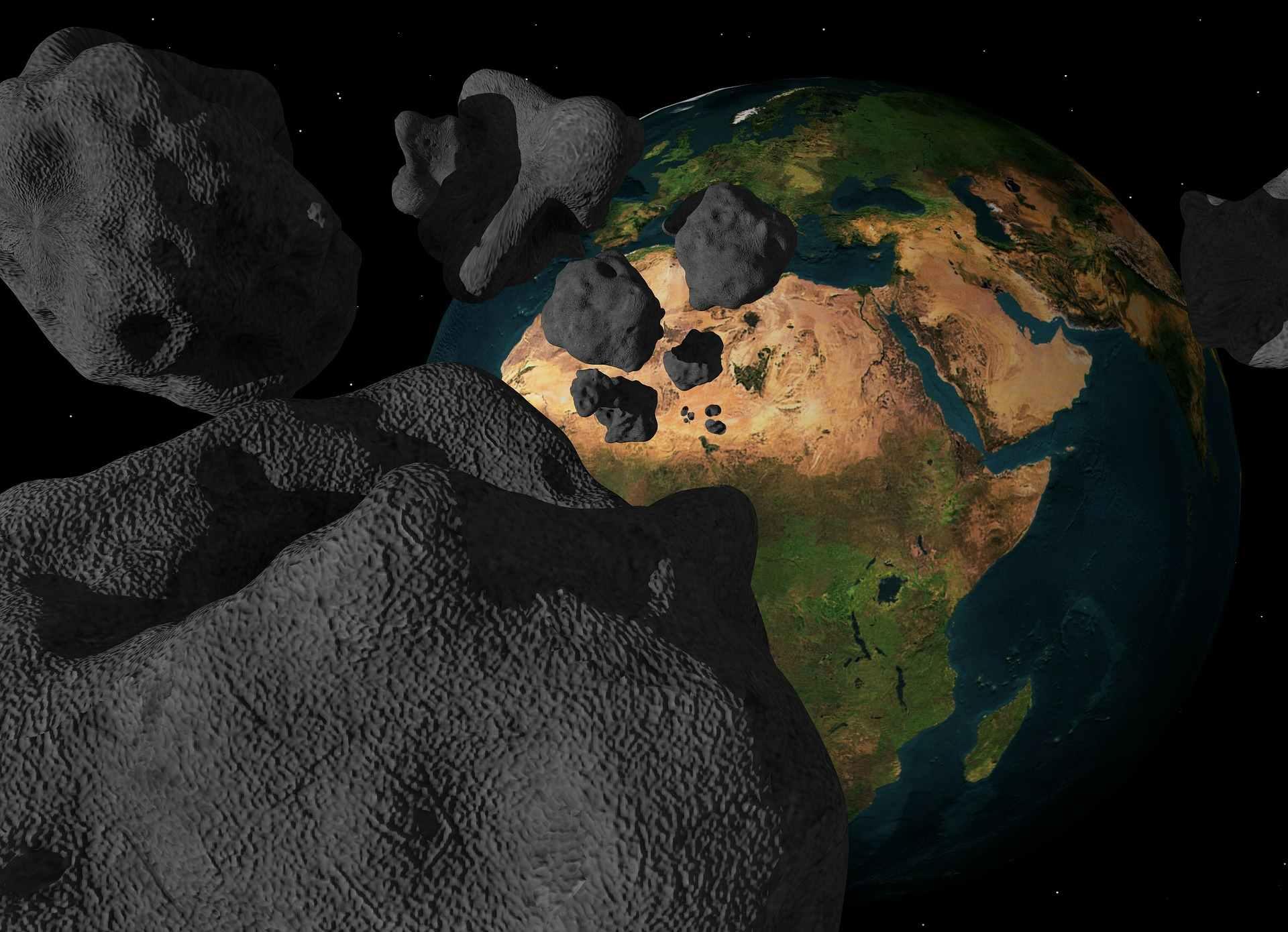 Asteroida zmierzająca w kierunku Ziemi