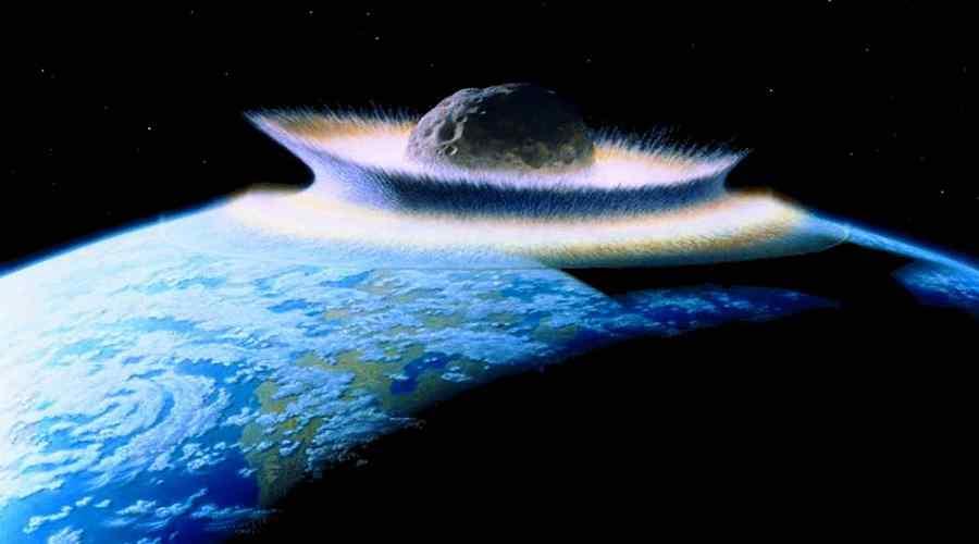 Asteroida uderza w Ziemię