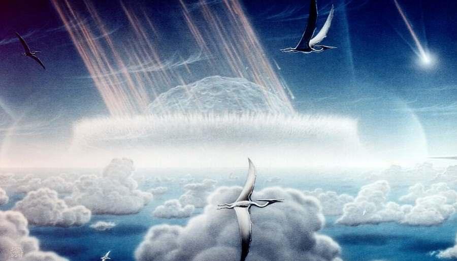 Uderzenie asteroidy w Ziemię