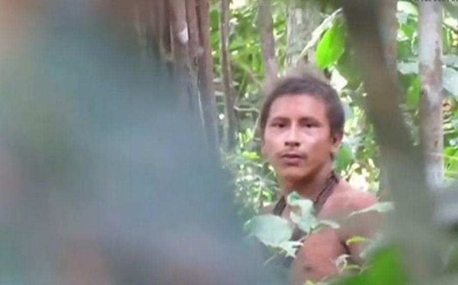 Przedstawiciel plemienia Awa