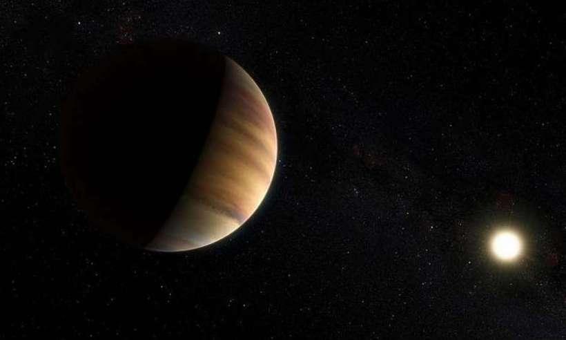 Egzoplaneta i jej gwiazda