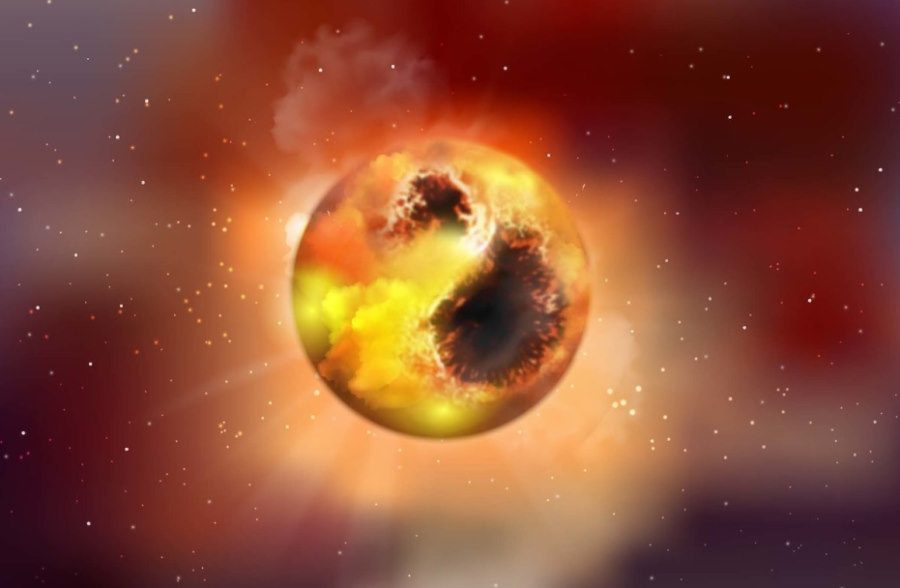 Astronomowie znaleźli prawdopodobną przyczynę pociemnienia Betelgezy