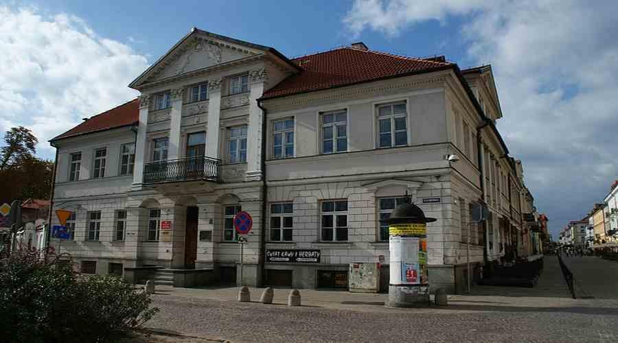 Budynek Biblioteki Zielińskich