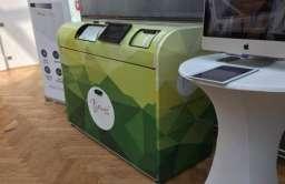 Automat do segregacji śmieci Bin-e