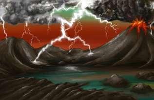 Uderzenia piorunów mogły odegrać istotną rolę w powstaniu życia na Ziemi