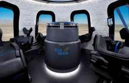 Wnętrze kapsuły załogowej Blue Origin