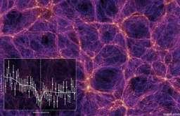 Włókna gorącego gazu w przestrzeni międzygalaktycznej