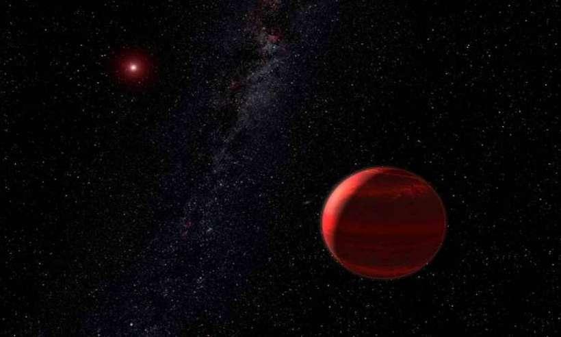 Brązowy karzeł - zamiast dwóch planet