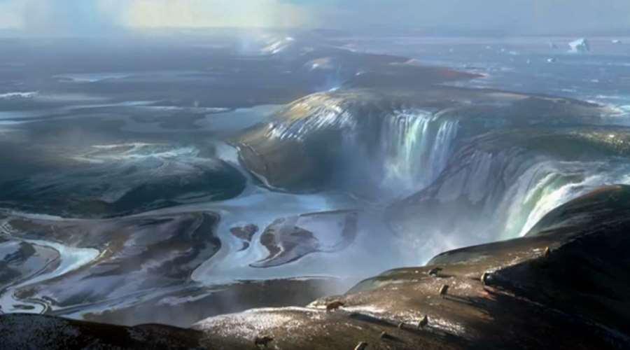 Kanał La Manche zalewany przez topniejące lody pod koniec epoki lodowcowej