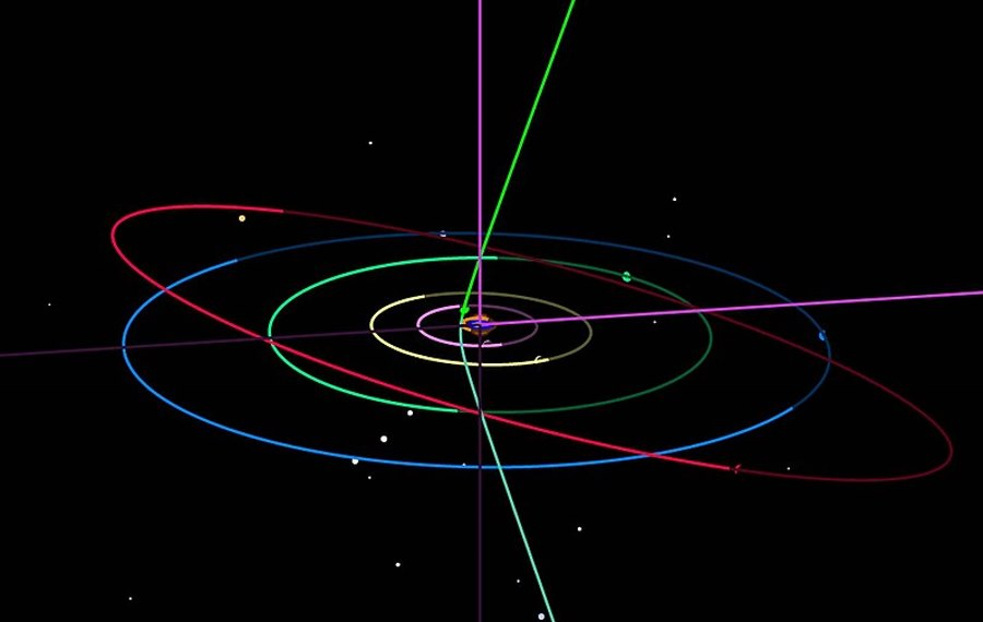 Kolejny międzygwiezdny przybysz w Układzie Słonecznym? Drugi w historii po `Oumuamua