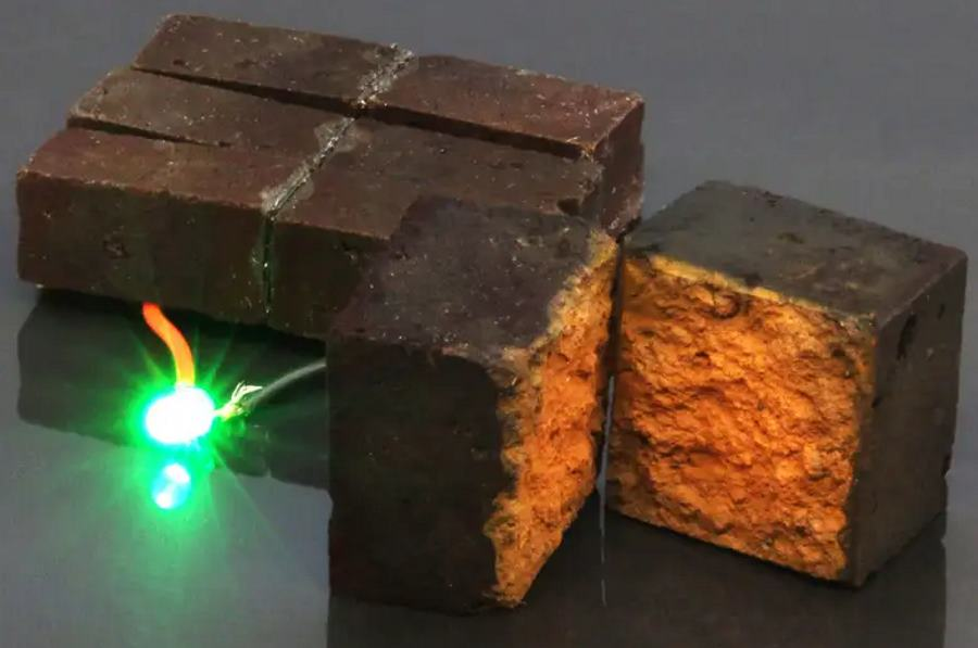 Nanotechnologia zamienia cegły w... baterie