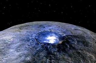 Dane z sondy Dawn wskazują na ukryty ocean pod powierzchnią  Ceres