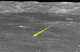 Lokalizacja sondy Chang'e 4 na niewidocznej stronie Księżyca