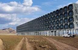 Instalacja wyłapująca CO2 z powietrza