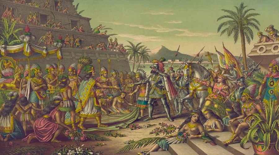Cortez i Montezuma
