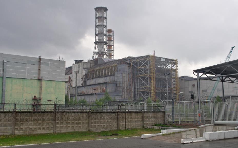 Elektrownia jądrowa w Czarnobylu. Budowa Arki nad reaktorem nr 4