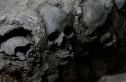 Aztecka wieża czaszek