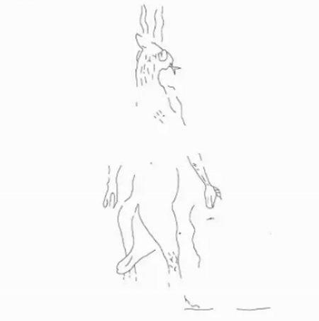 Wizerunek demona padaczki z gliniancych tabliczek sprzed 2700 lat