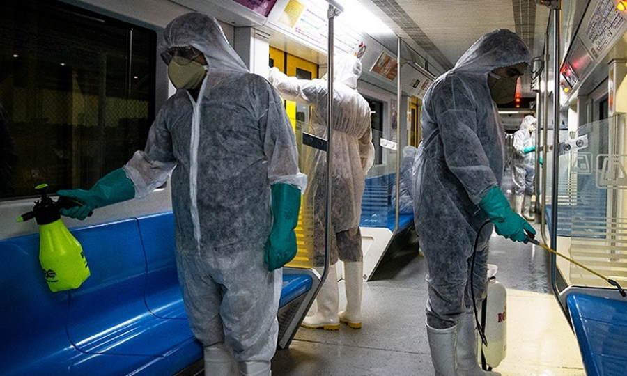 dezynfekcja wagonów metra