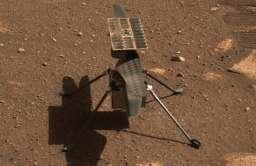 Pierwszy lot marsjańskiego śmigłowca Ingenuity przełożony