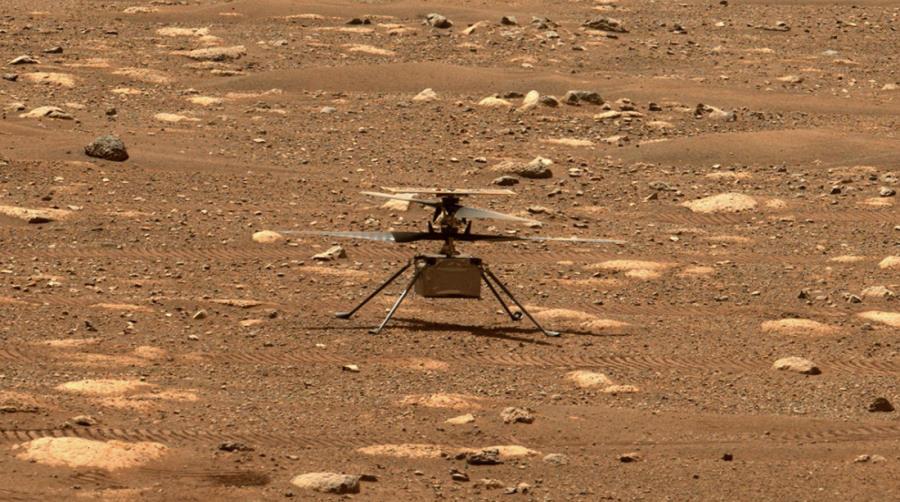 Poważne problemy marsjańskiego drona Ingenuity. Szósty lot mógł okazać się ostatnim