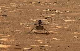 Udany pierwszy lot drona Ingenuity na Marsie!