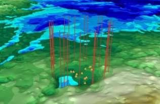 Krater uderzeniowy na Grenlandii