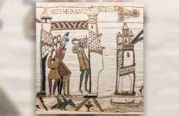 Tkanina z Bayeux upamiętniająca m.in. pojawienie się komety Halleya