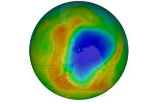 Dziura ozonowa najmniejsza od czasów jej odkrycia