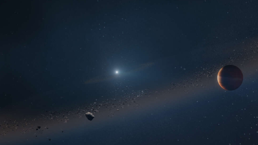 Planeta, która przetrwała śmierć swojej gwiazdy. Spojrzenie w przyszłość Układu Słonecznego