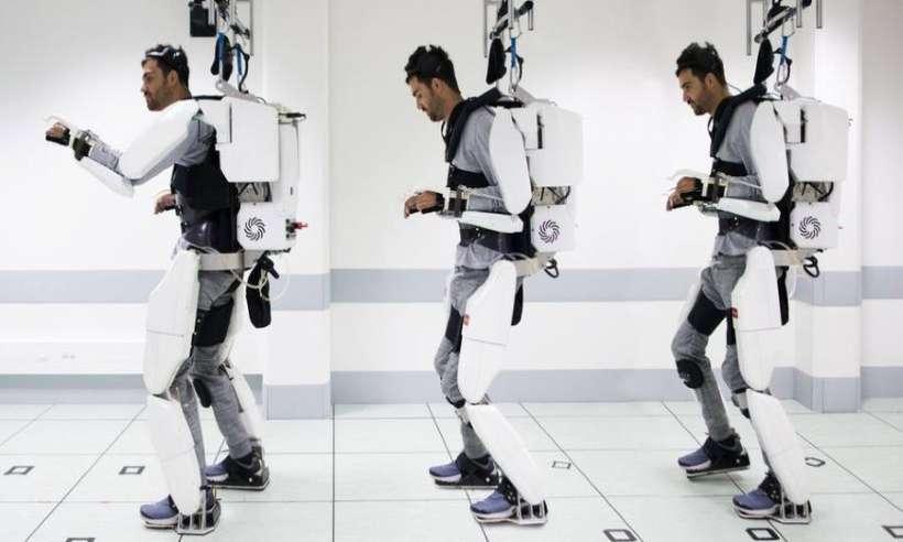 Kontrolowany za pomocą myśli egzoszkielet pozwala sparaliżowanemu chodzić
