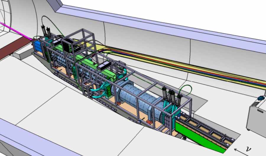 Projekt detektora FASER