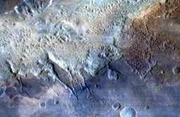 Kanion Eos Chaos na Marsie