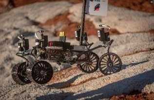 Zespoły z Polski i Indii zwyciężyły w zawodach robotów marsjańskich ERC 2021