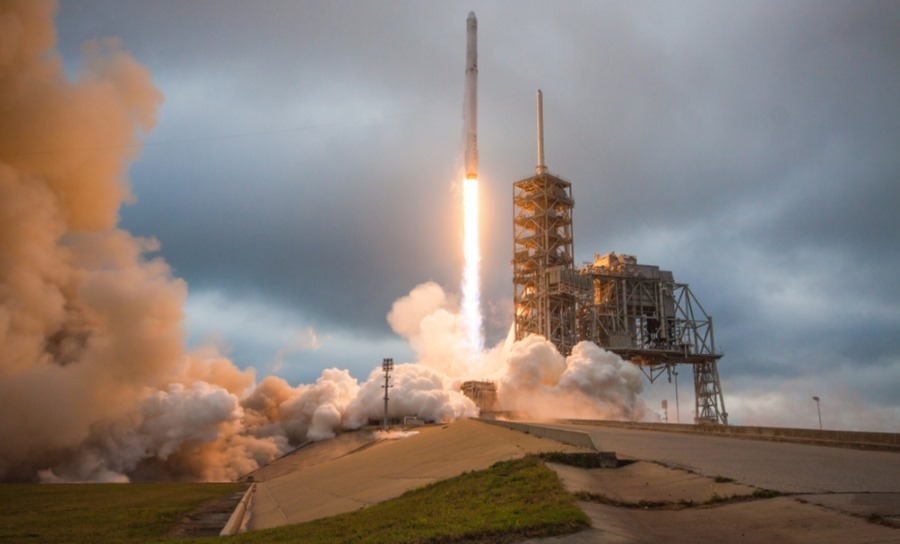 Start rakiety Falcon 9
