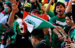 Fani Meksyku podczas mundialu