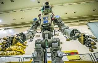Rosyjski robot Fedor leci na Międzynarodową Stację Kosmiczną