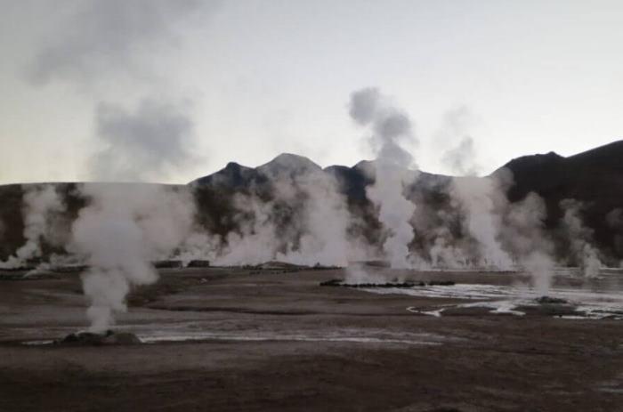 Energia cieplna, geotermalna - gejzery i para