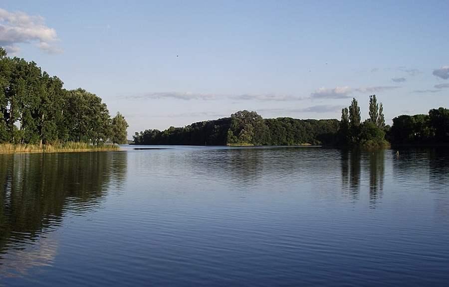 Niski stan wody jeziora Gopło odsłonił drewnianą konstrukcję sprzed tysiąca lat