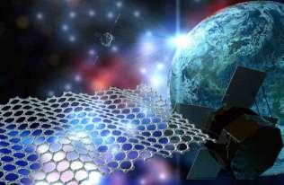 Grafen do zastosowań kosmicznych