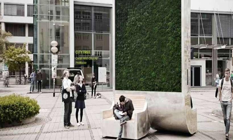 Pochłaniacz smogu City Tree