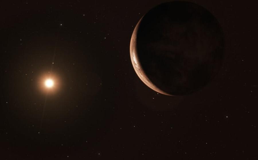 Superziemia w pobliżu Gwiazdy Barnarda